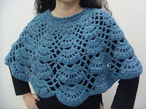 Ravelry: a. Crochet cape pattern by Nihon Vogue (日本ヴォーグ社 ...