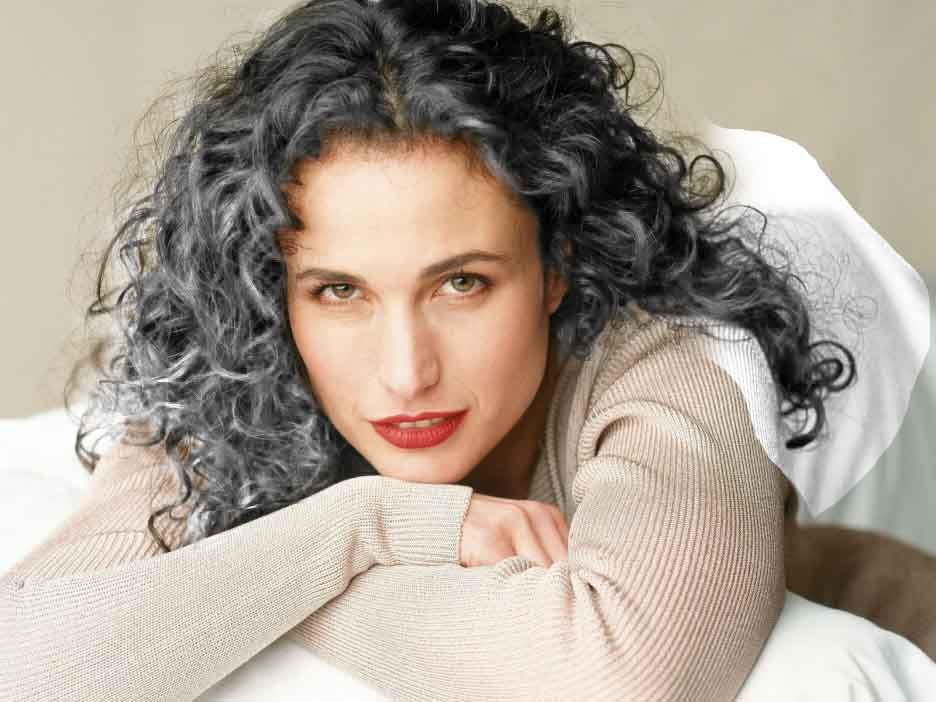 Gray Haired Beauties on Pinterest | Gray Hair, Short Curly Hairstyles