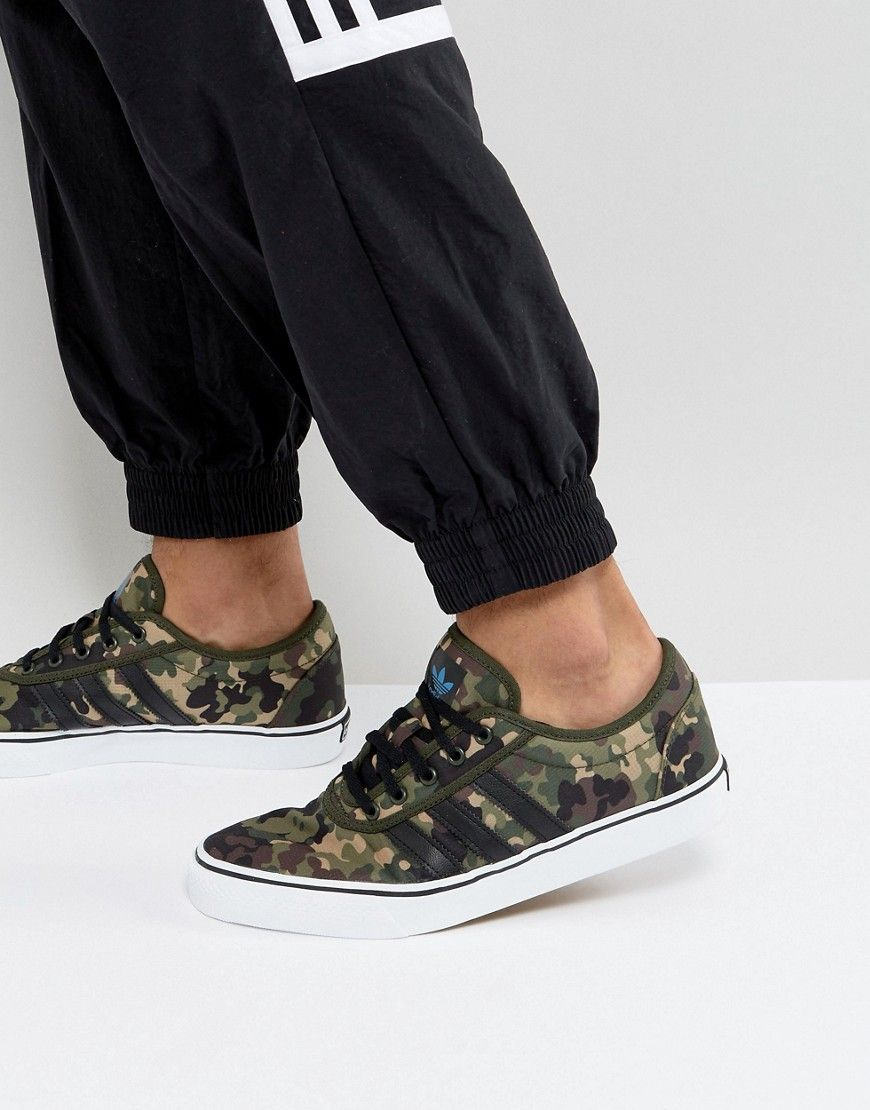 3857632f92dd adidas Skaterboarding Adi-Ease Sneakers In Camo BY4034 - Green ...