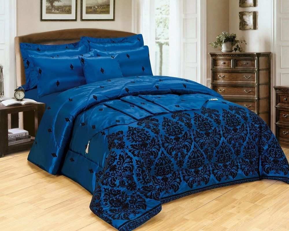 SUPREME Luxury 5PC BED in Bag Duvet Cover With Bed Runner