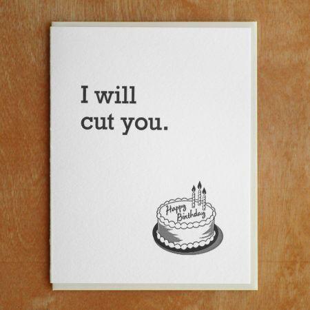 Cut You Card