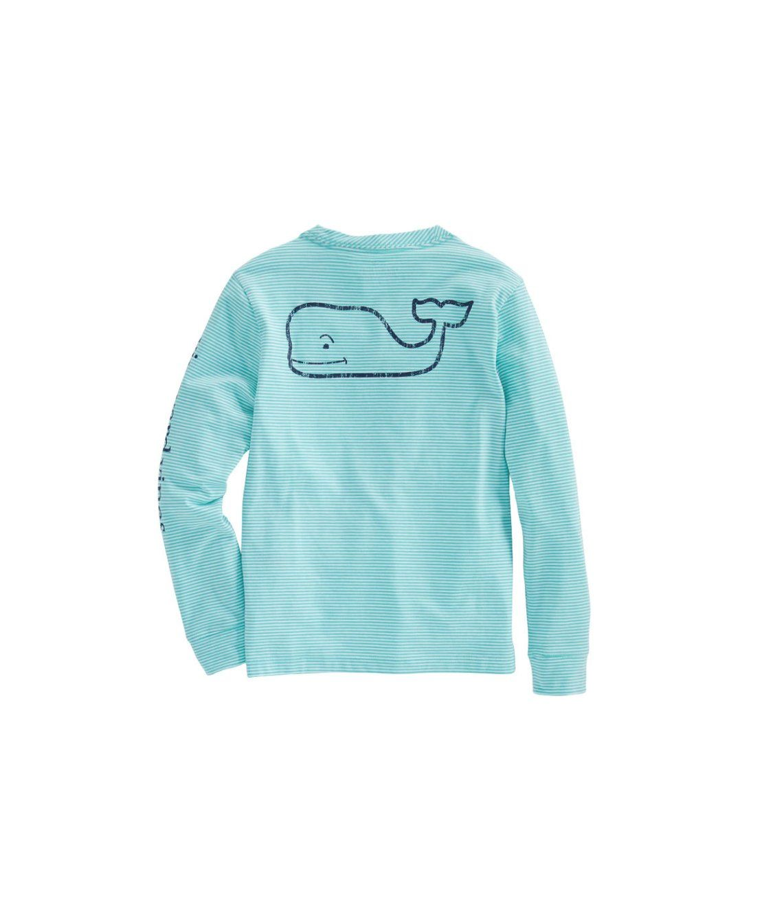 e19d2cea Boys Long-Sleeve Stripe Vintage Whale Edgartown T-Shirt | new ...