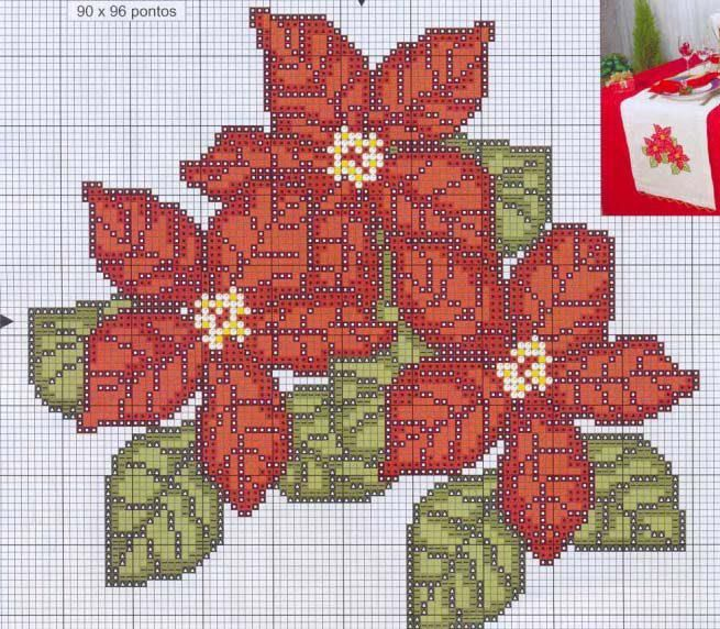 Cross stitch *♥* Point de croix Noël