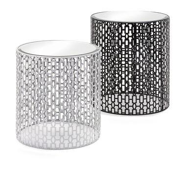 Essentials Jazz Mirrored Tables - Set of 2