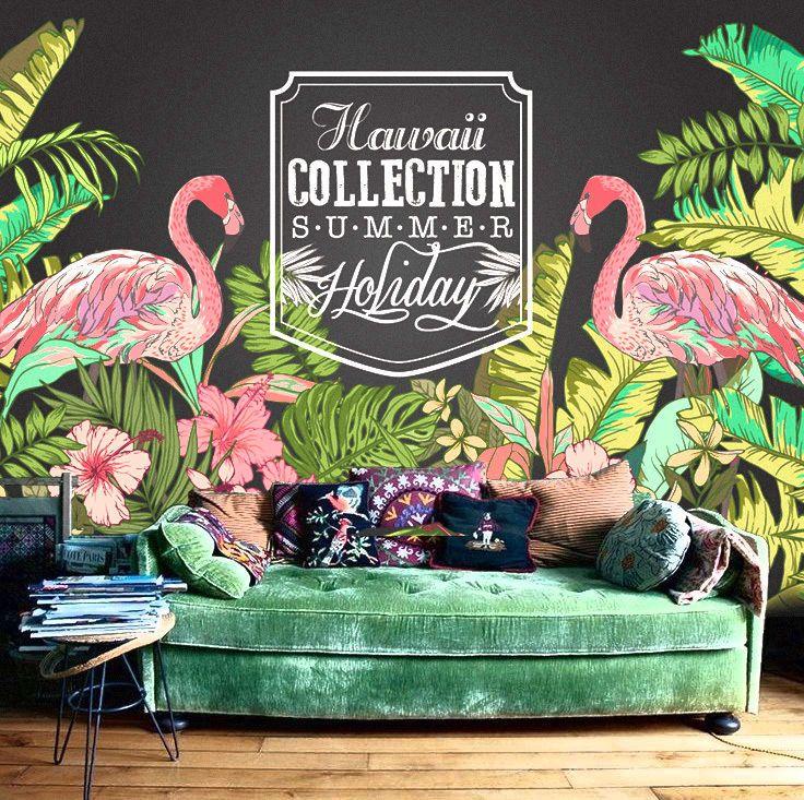 Hawaii Flamingo Wallpaper Tropical Nature Plant Forest