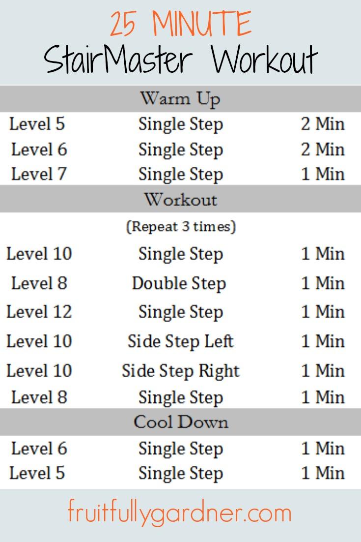 stepper trainingsplan
