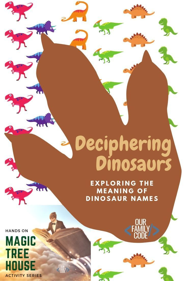 Deciphering dinosaur names with greek and latin words