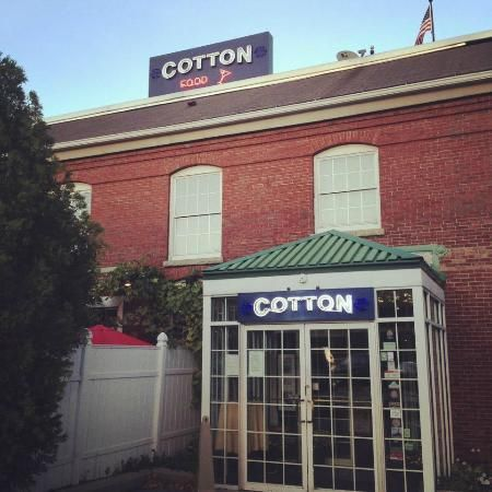 Cotton Restaurant Manchester Nh Fantastic Place For A Delicious Dinner In Historic