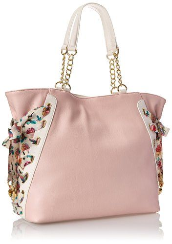 Betsey Johnson Mix-N-Match BJ44610 Shoulder Bag, Blush, One Size: Handbags: Amazon.com