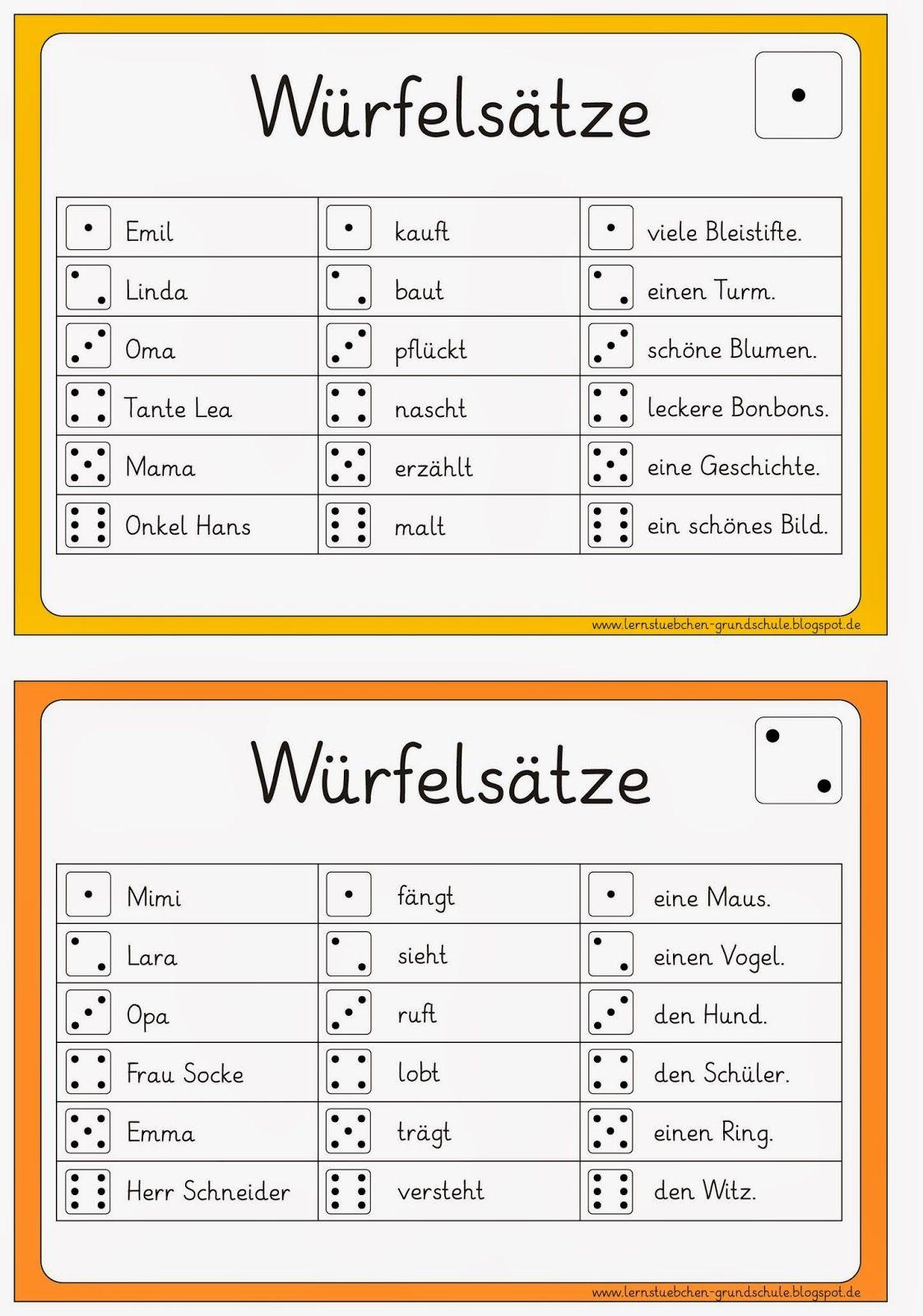 Lernstübchen: DEU 1 lesen und schreiben … | Ideenreich | Pinterest ...