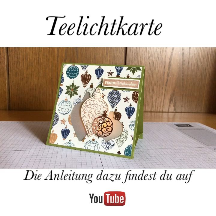 Photo of Instructions for placing a tealight card – YouTube