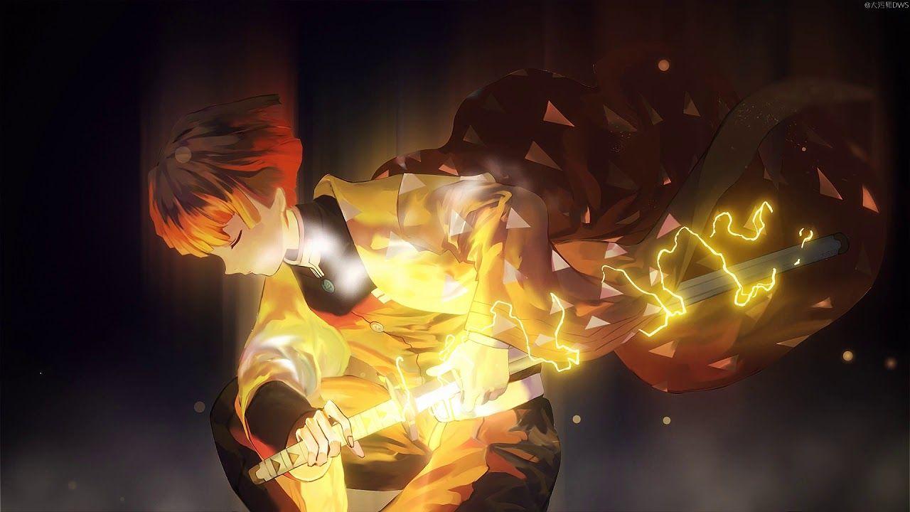Kimetsu No Yaiba Zenitsu Agatsuma Wallpaper Youtube In 2021 Cute Anime Wallpaper Anime Wallpaper Hd Anime Wallpapers