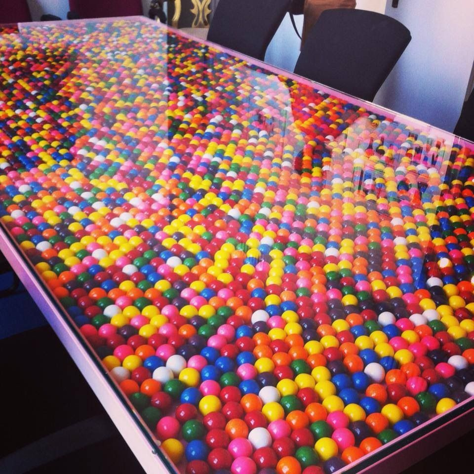 Candy Bar Interior Design Kitchen: The Conference Table At Dylan's Candy Bar. How Cool! It
