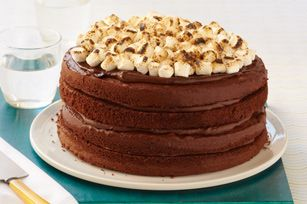 Choco mallows cake recipe