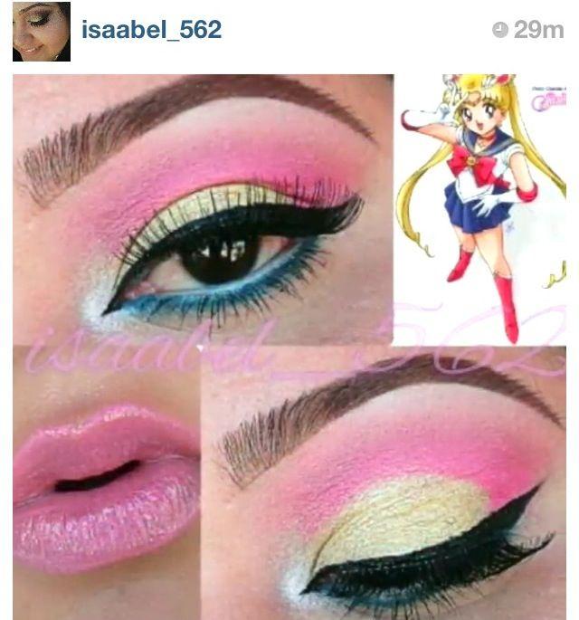 Sailor Moon Make Up Sailor Moon Makeup Anime Makeup Sailor Moon Cosplay