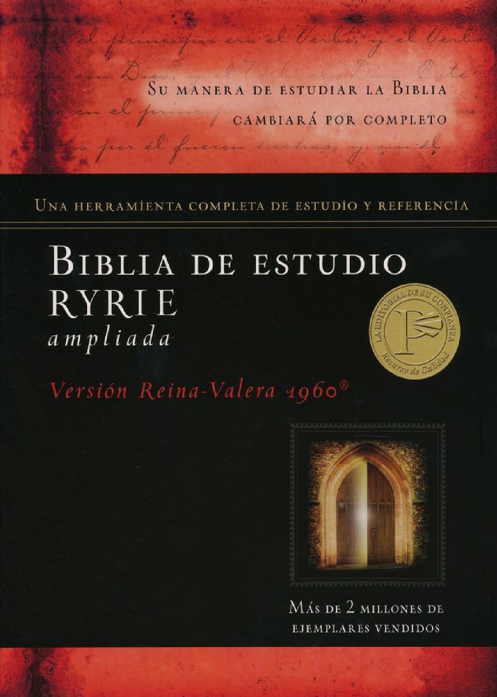 Biblia De Estudio Ryrie Ampliada Livro Cristao Biblia Estudo