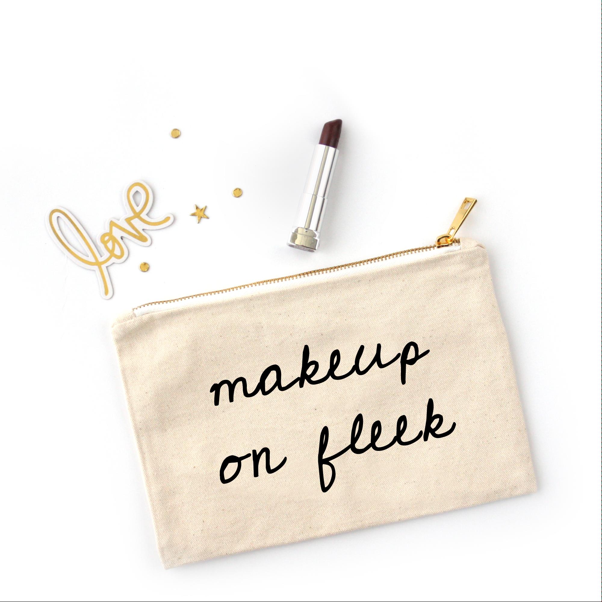 Ray of Sunshine Makeup Bag Black makeup bag, Cute makeup