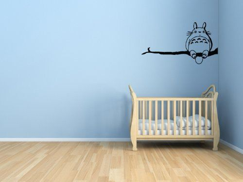 My Neighbor Totoro On Branch   Wall Vinyl Decal By Yadda Yadda Design Co.,  Would Love To Have This In My Babyu0027s Room.