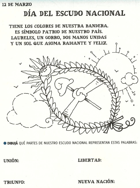 Escudo 971 1309 Educaci N Pinterest Argentina