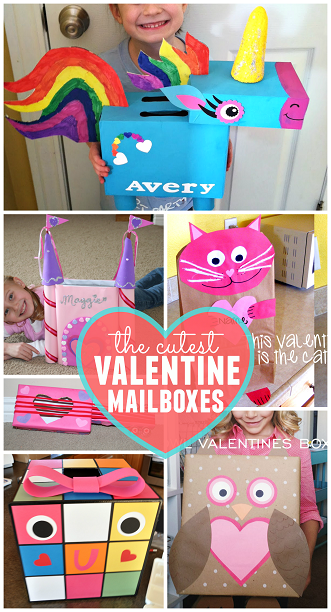 The Cutest Valentine Boxes That Kids Will Love Girls Valentines Boxes Kids Valentine Boxes Preschool Valentines