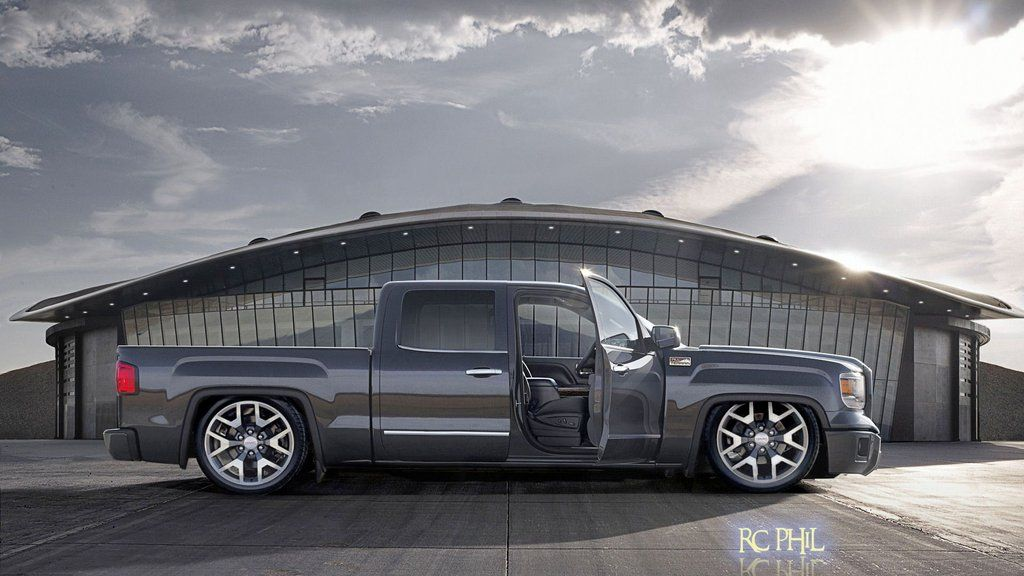 GMC Sierra 2014 | Trucks, Lowrider trucks, Gmc