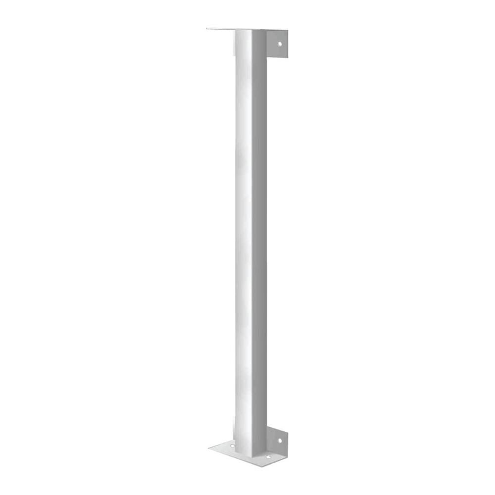 Mr Goodbar 36 In White Joining Post For Security Bars S600 Jp 36 Window Security Bars Lowes Home Improvements Window Bars
