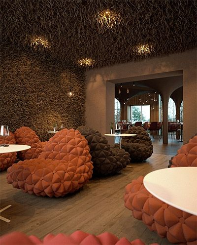 Loving the textures here Twister a restaurant in Kiev Ukraine