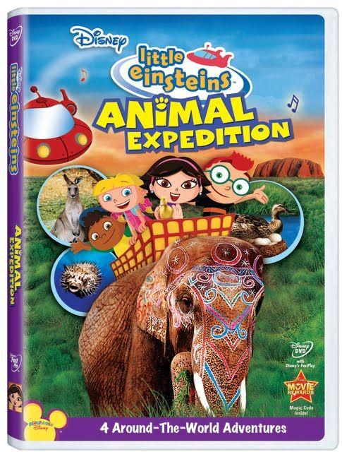 Little Einsteins: Animal Expedition [DVD] | Albert einstein