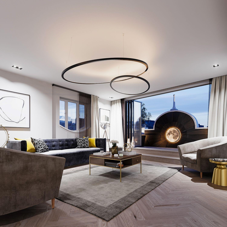 Design Ideas For Exteriorhouse Lighting: Contemporary Apartment, Home Decor