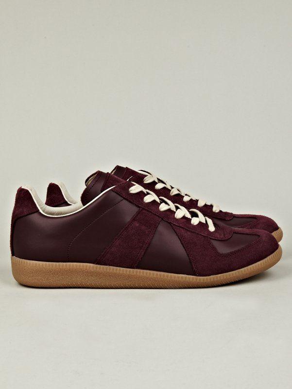 MAISON MARGIELA 22 Sneakers Maroon Men