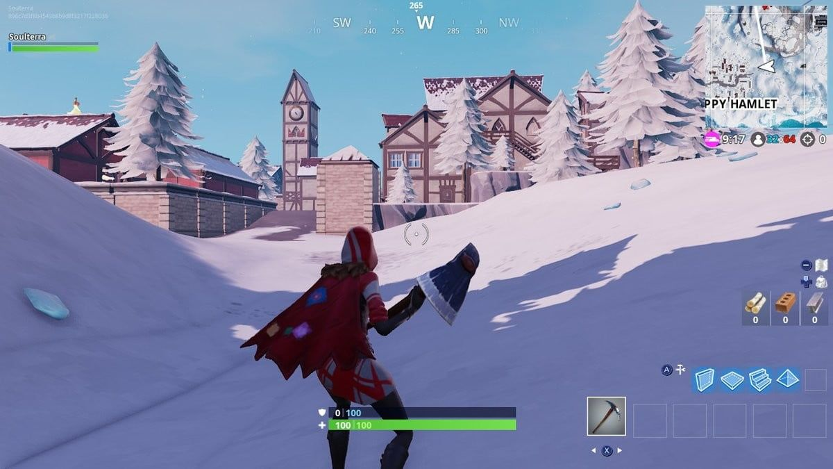 don your best winter fortnite skin and - where are the ski lodges in fortnite season seven