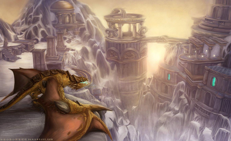 Meeting The Dawn By K E I S I N G E R On Deviantart Warcraft
