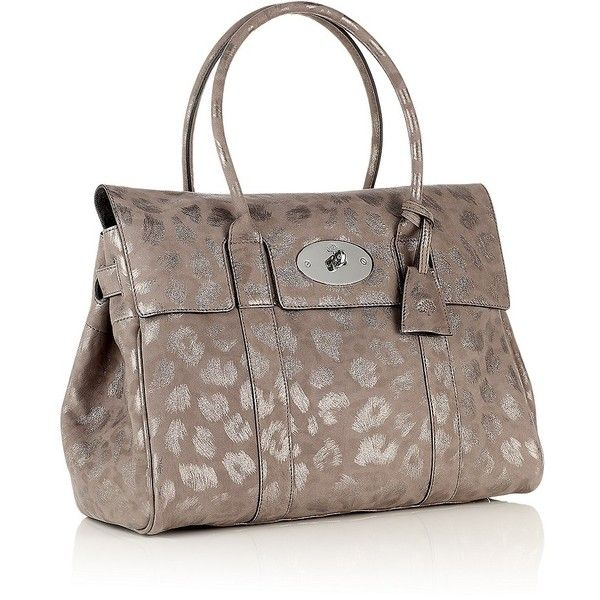 1f9782d1ed9a ... top quality mulberry mole grey giant sparkle leopard bayswater bag 1400  liked on polyvore e7432 3e23d australia medium lily ...