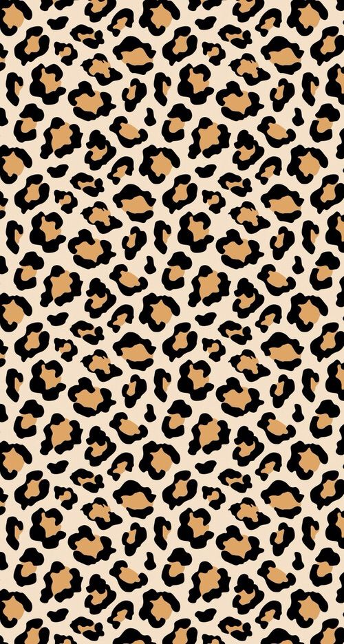 Image via We Heart It art leopardprint wallpaper