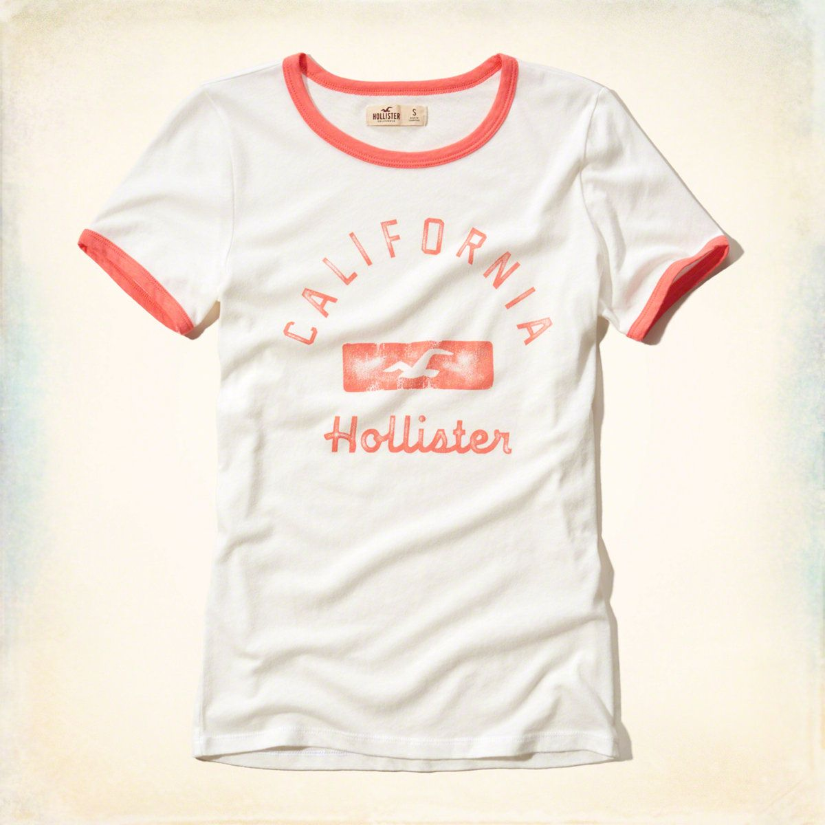 Girls Graphic Tees | Clearance | Hollister Co. Hollister LogoGirl ...