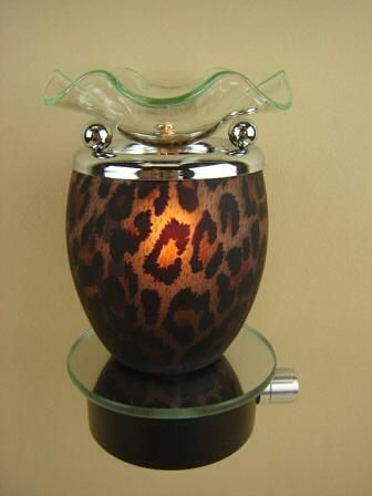 Electric Candle or Tart Warmer or Oil Burner Zebra Coo Candles Night Light Lamp