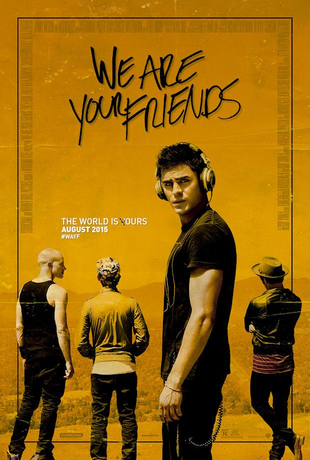 Telecharger We Are Your Friends DVDrip Uptobox Movies Online Poster