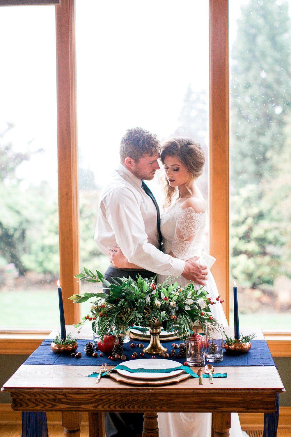 Christmas Wedding Editorial (Portland, Oregon) | Farm ...