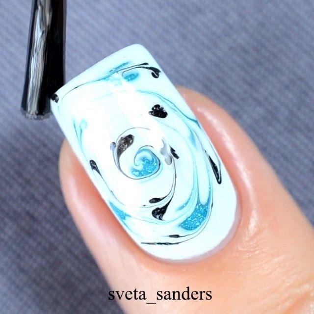 20 Tutoriels Qui Vont Vous Réconcilier Avec le Nail Art | Marble ...