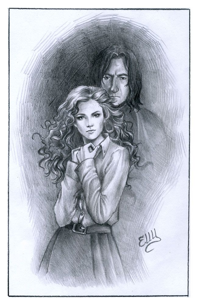 Severus and Hermione by Elly