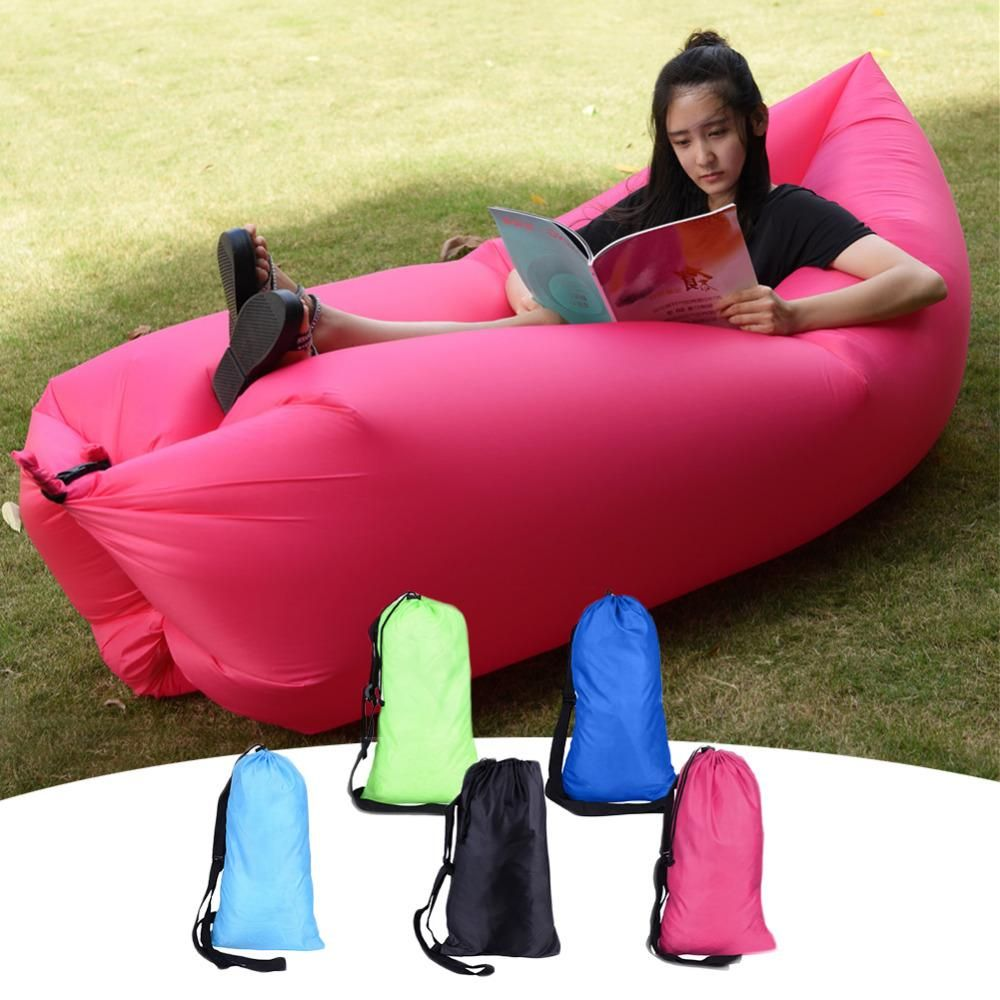 New Design Europe Portable Outdoor Inflatable Sofa Lazy Inflatable