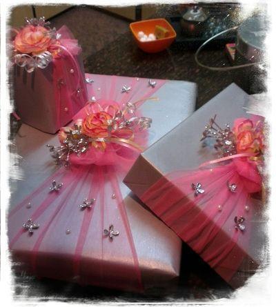 wedding saree, bridal trousseau | trousseau packing ...