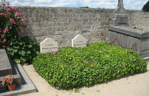 Where the Graves of Famous Artists Are LocatedVincent