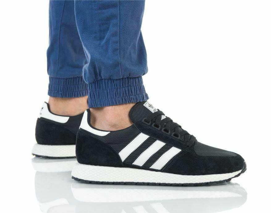 Adidas Forest Grove Sneaker Herren Turnschuhe Sportschuhe Schwarz Weiss Ee5834 Schuhe Herren Sneaker Turnschuhe Herren Sneaker Herren