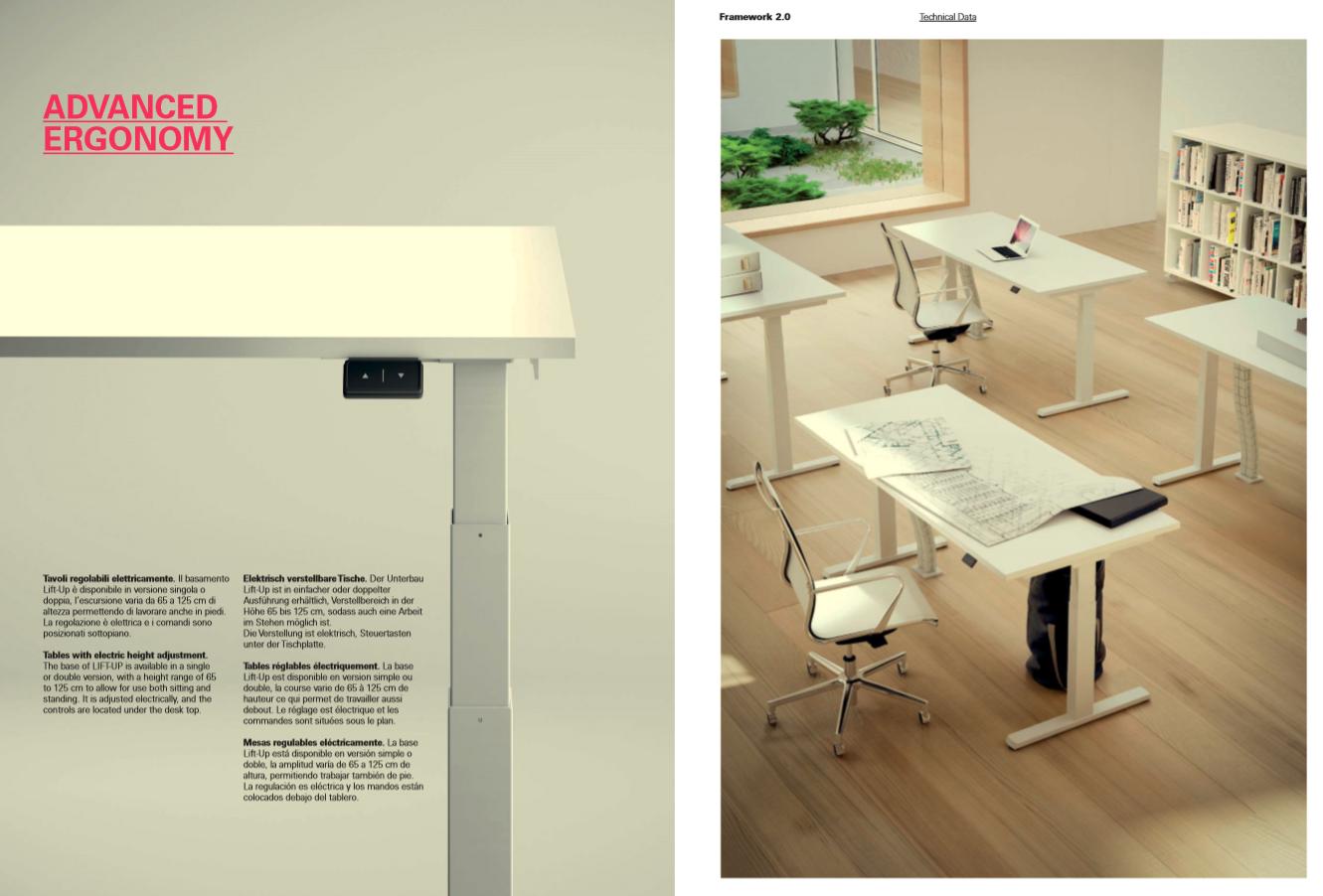Fantoni Framework 2.0 Kollektion Das innovative Konzept und des ...