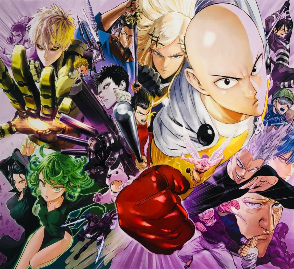 All The Covers Together Onepunchman One Punch Man Manga One Punch Man Anime One Punch Man