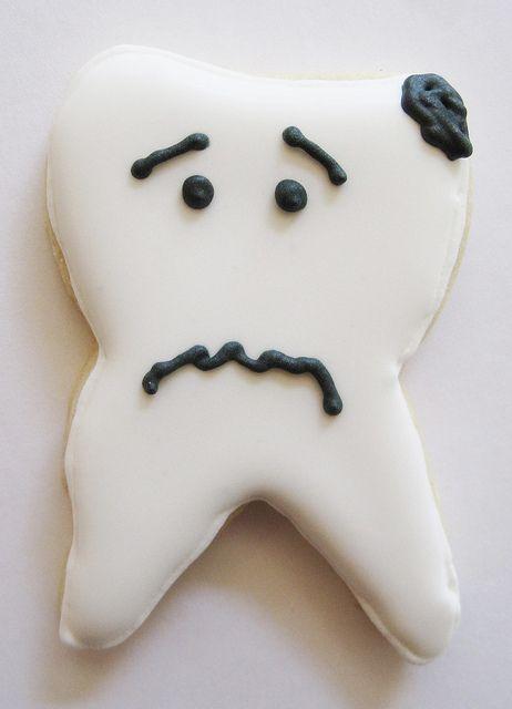 tooth cookie by sgodlove, via Flickr