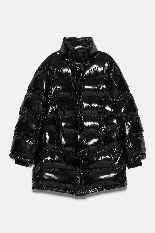 Puffer Coat With High Collardetails 7 590 Rsd Black 8073 823 Puffer Jacket Women Oversized Puffer Coat Puffer Coat [ 1500 x 1000 Pixel ]