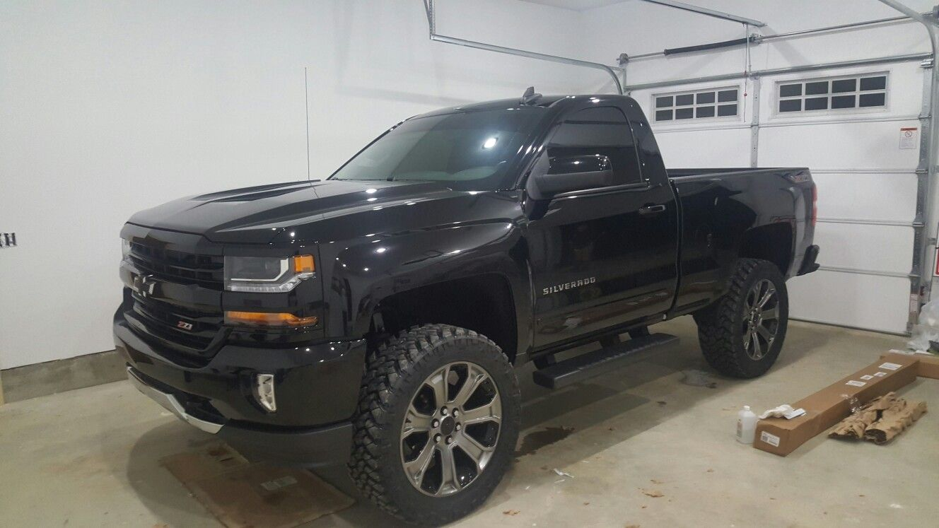 2016 2018 Silverado Regular Cab Short Box Z71