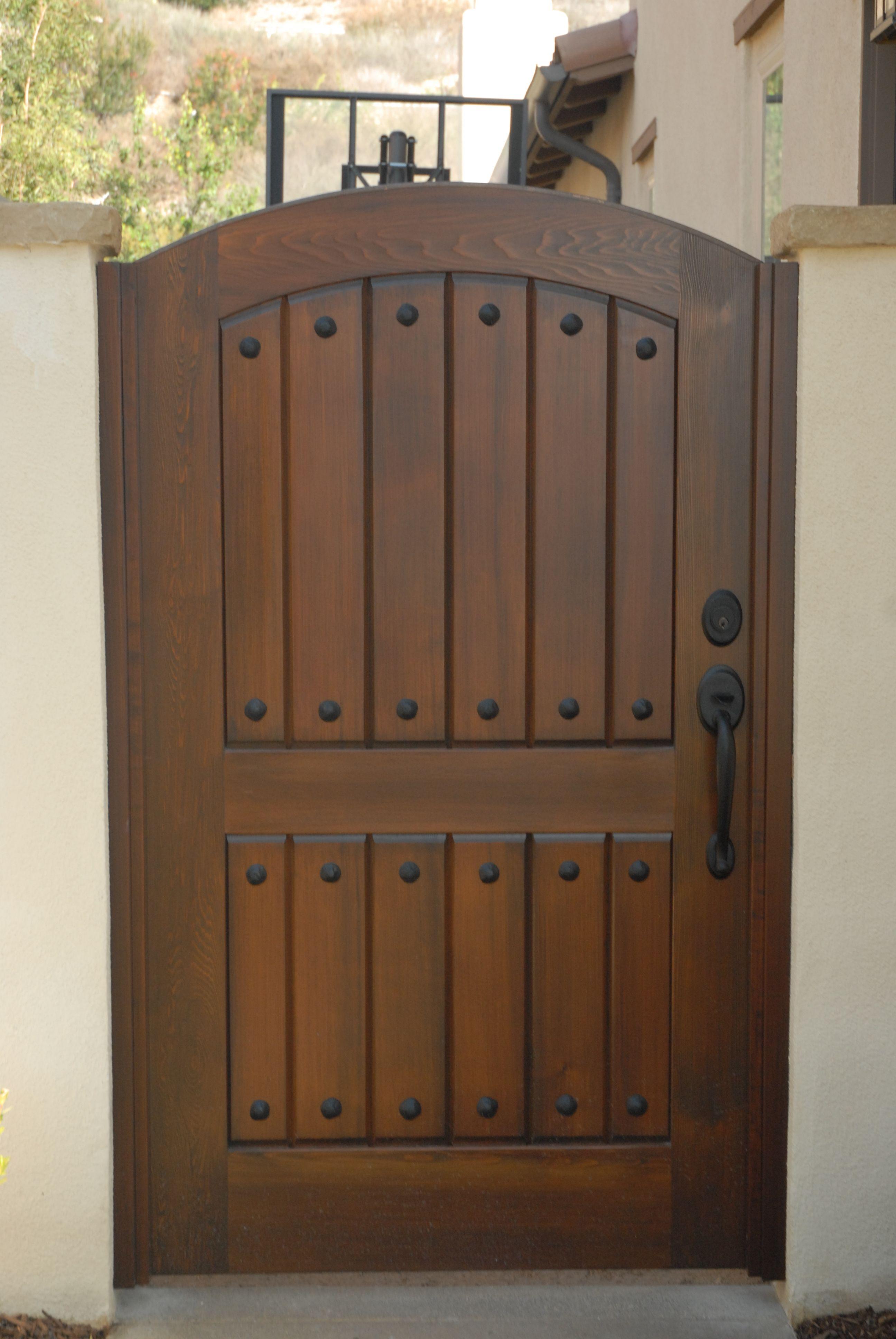 Premium Wood Gates Wood Gate Fence Gate Design House